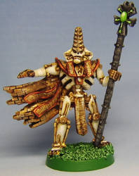 Necron Lord by FraterSINISTER