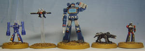 TRANSFORMERS G1: Soundwave and Cassettes