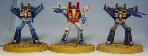 TRANSFORMERS G1: Air Warriors by FraterSINISTER