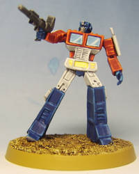 TRANSFORMERS G1: Optimus Prime by FraterSINISTER