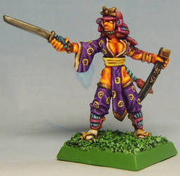 Nitsume Fumge the Half-Hobgoblin of Haikido by FraterSINISTER