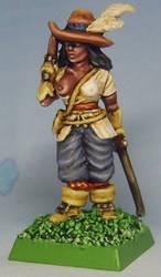 Female Brigand Leader by FraterSINISTER