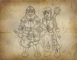 Dwarves by melyanna