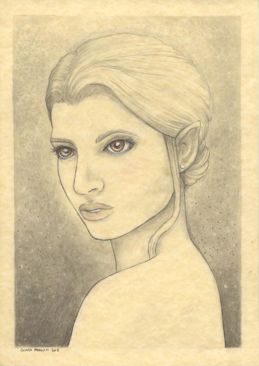 Elven lady by melyanna