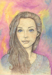 Evelyn Trevelyan by melyanna