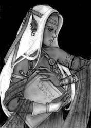 Drow Priestess by melyanna