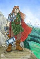 Dwarven hero by melyanna