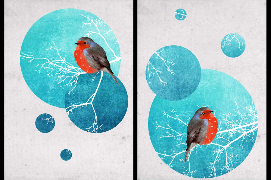 Christmas postcards by RavenAngelov