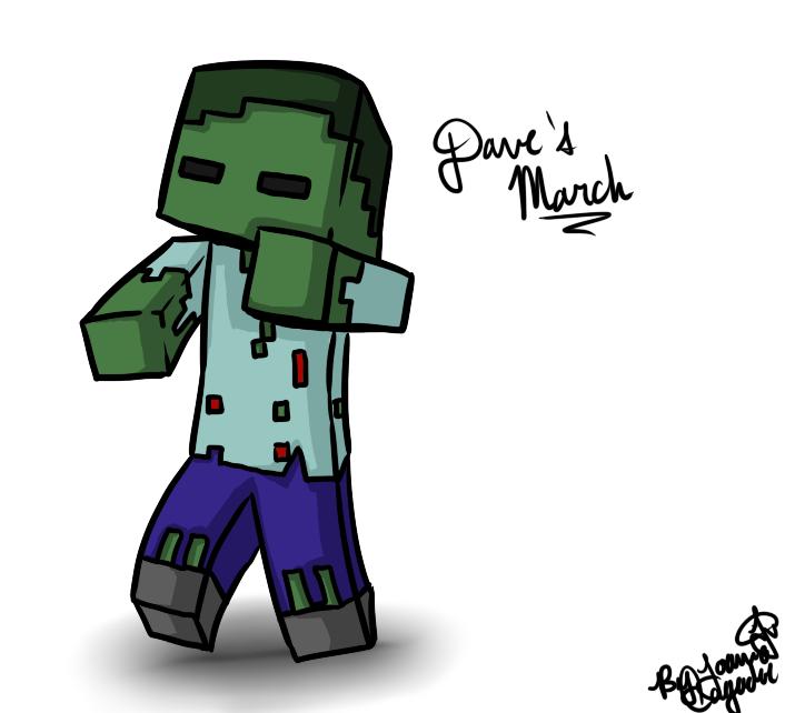 Minecraftdrawingdavethezombiebyjojoful Dbqm