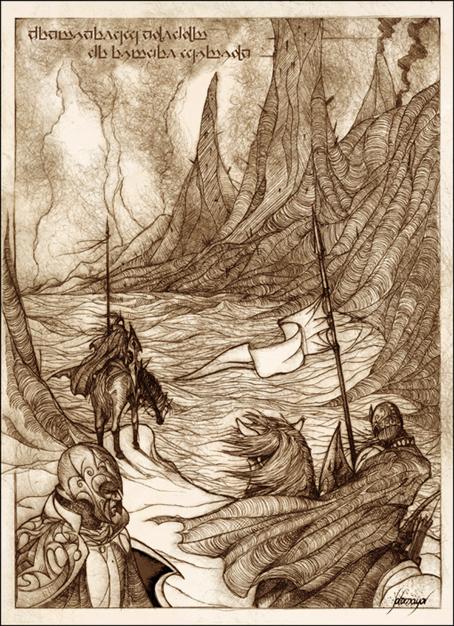 Noldor Sentinels by Feliche