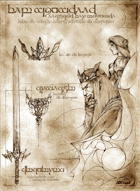 Elu Thingol - Elwe Singollo by Feliche