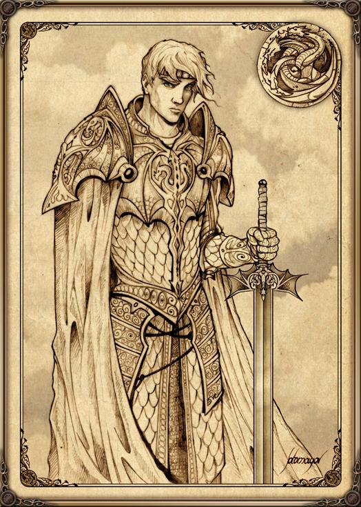 Aegon I Targaryen by Feliche
