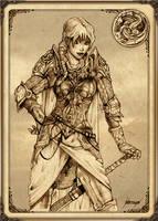 Visenya Targaryen by Feliche
