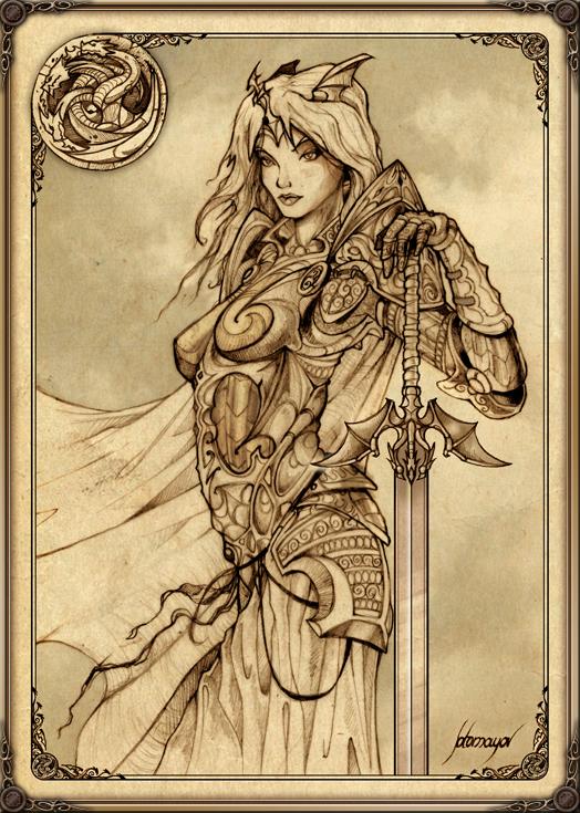 Rhaenys Targaryen by Feliche