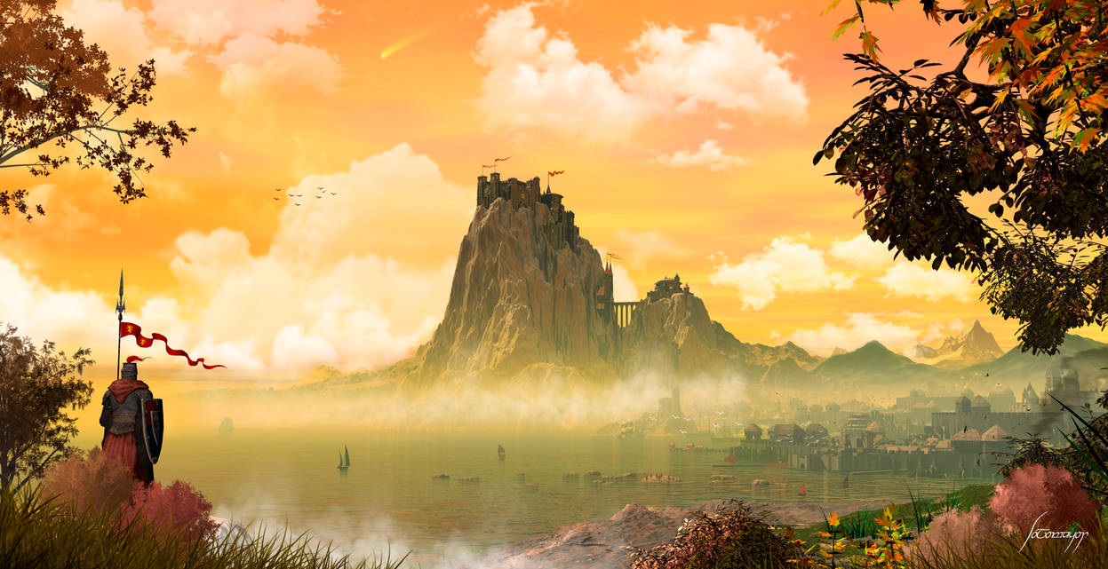 Casterly Rock and Lannisport