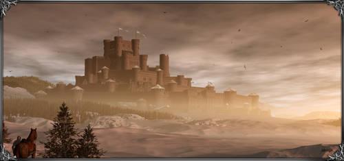 Winterfell by Feliche