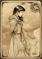 Lady Lyanna Stark by Feliche