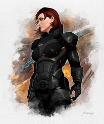 Commander Jane Shepard