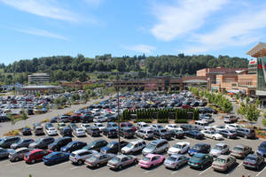 Parking lot picture.