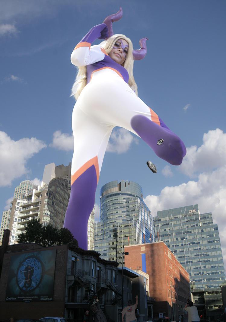 Rizzy Okuni as Mt. Lady by The-WonderSlug