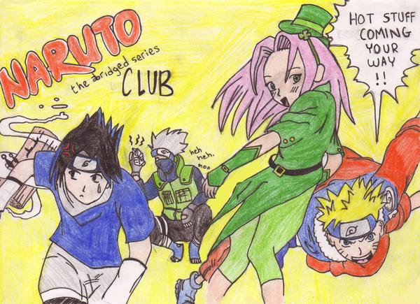 Naruto abridge series
