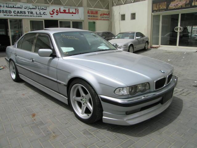 BMW 750iL V12 1998 silver by sniperbytes on DeviantArt