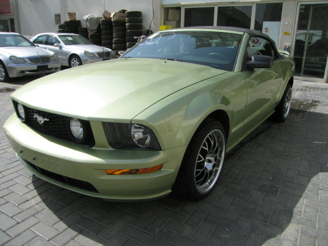 Ford Mustang Gt V  Green By Sniperbytes