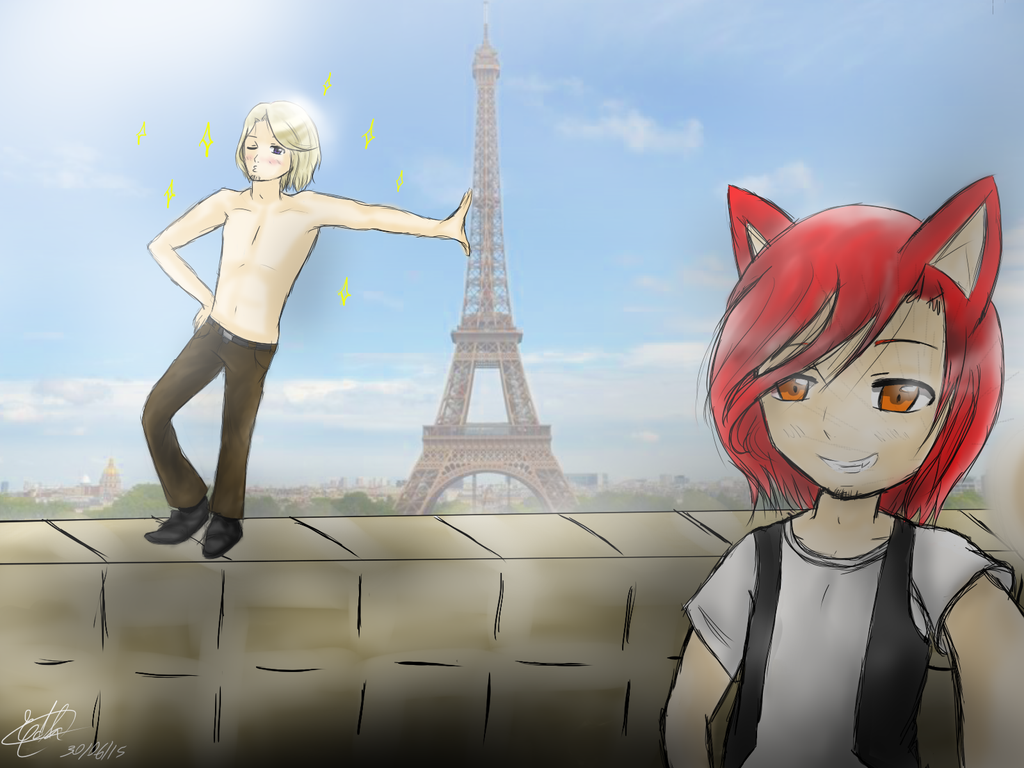 Meanwhile in France by Edlathecat