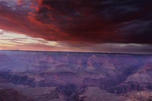 Grand Canyon Sunset by makobsan