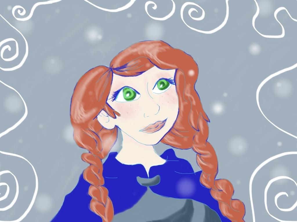2-D Princess Anna by lolitalover42