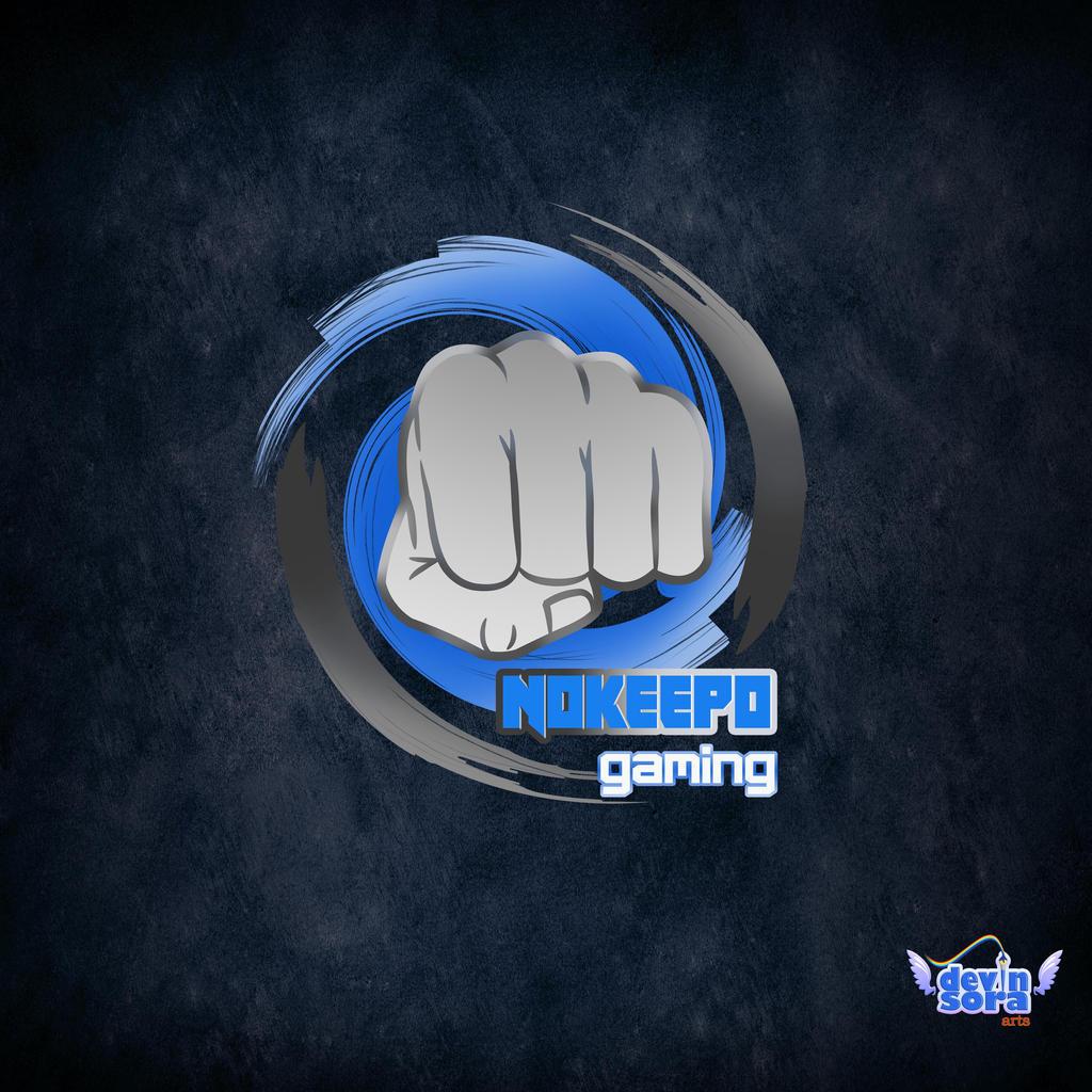 Commission Nokeepo Gaming Logo Design By Devinsora On Deviantart