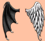 Good and Evil Wings