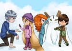 Snow day by ayala7