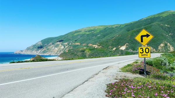 Hwy 1, California by andersonbi
