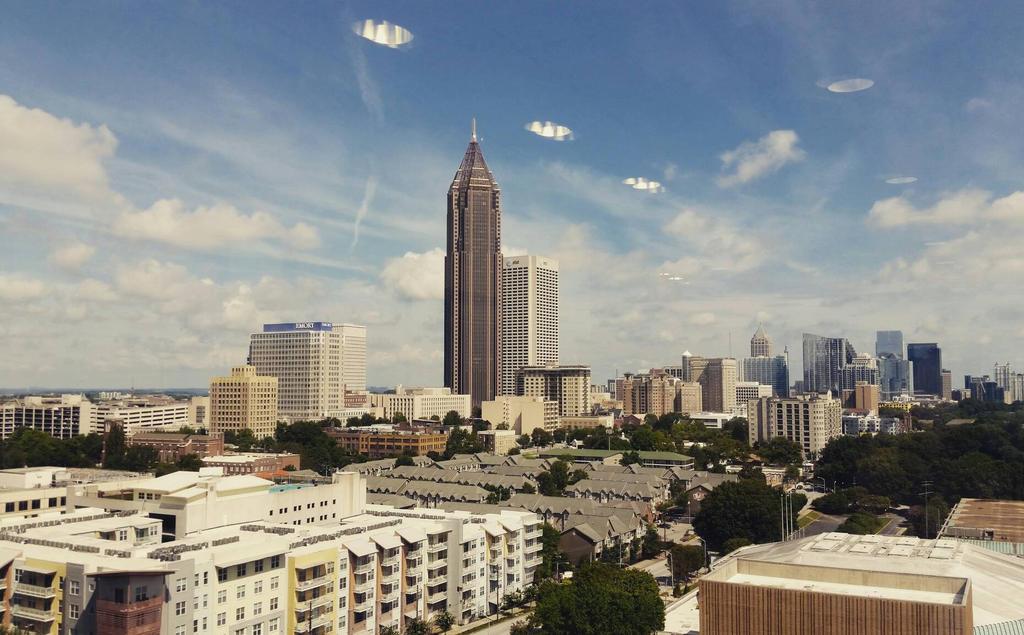 Atlanta skyline by andersonbi