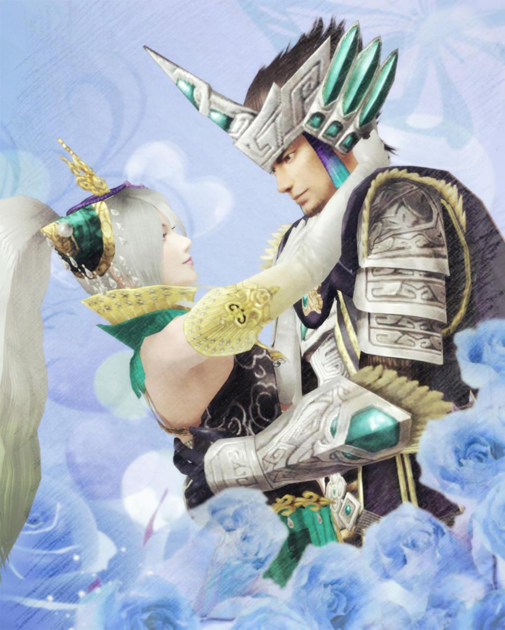 Warriors Orochi 3 Wallpaper: Fuxi X Nuwa By A821618628 On DeviantArt