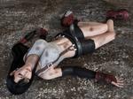 Tifa unconscious