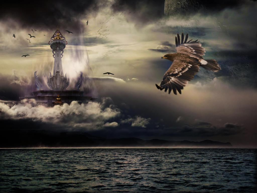 A birds dream by P-ink-y