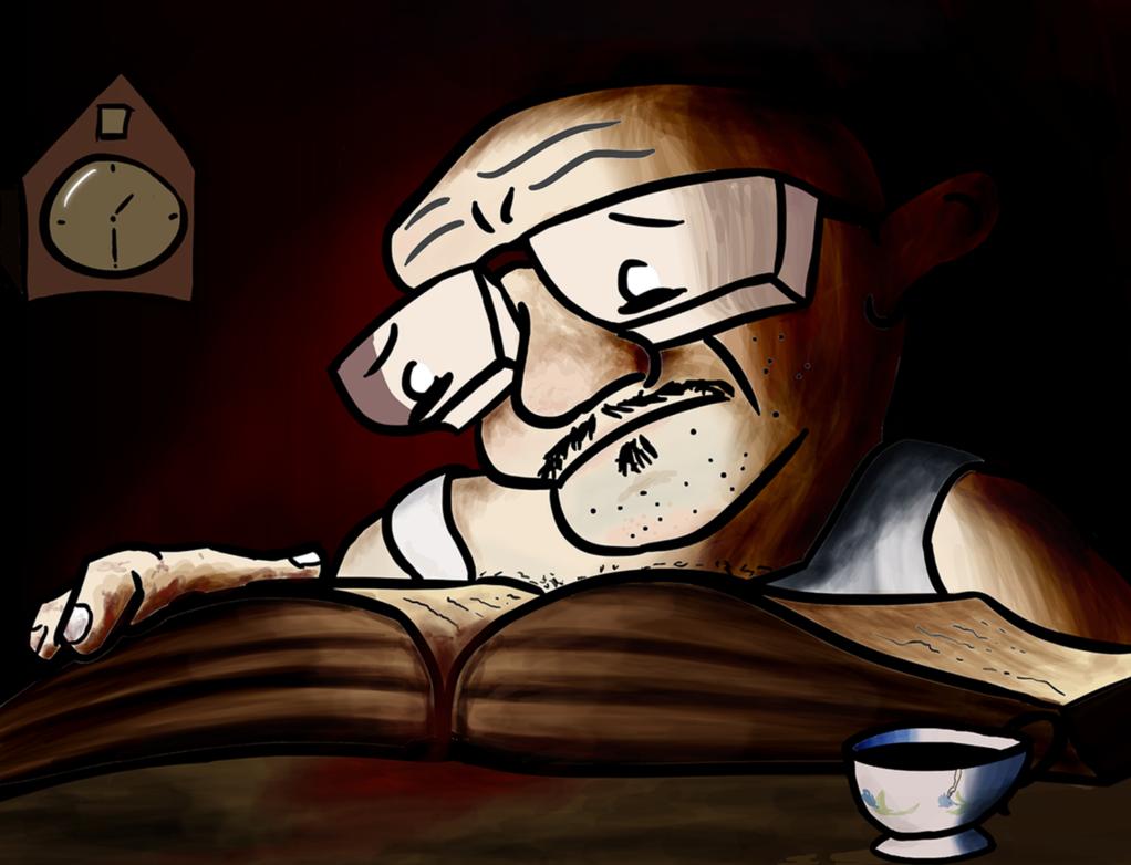 Reading by bertsia