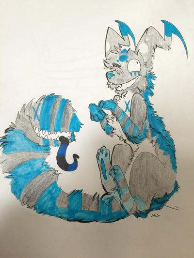 Blue markers suck  by Silhouett3s