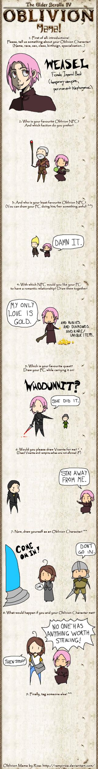 Oblivion Meme by quidditch