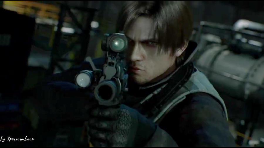 Leon's weapon. by Sparrow-Leon