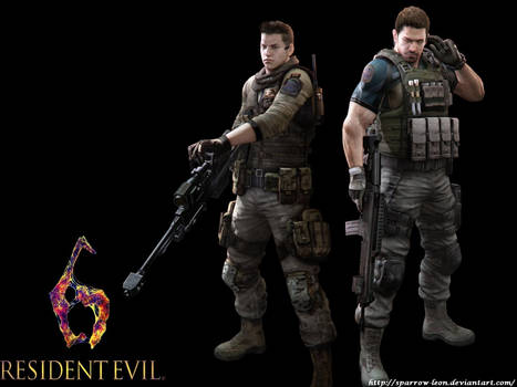 Chris and Piers ~ RE6