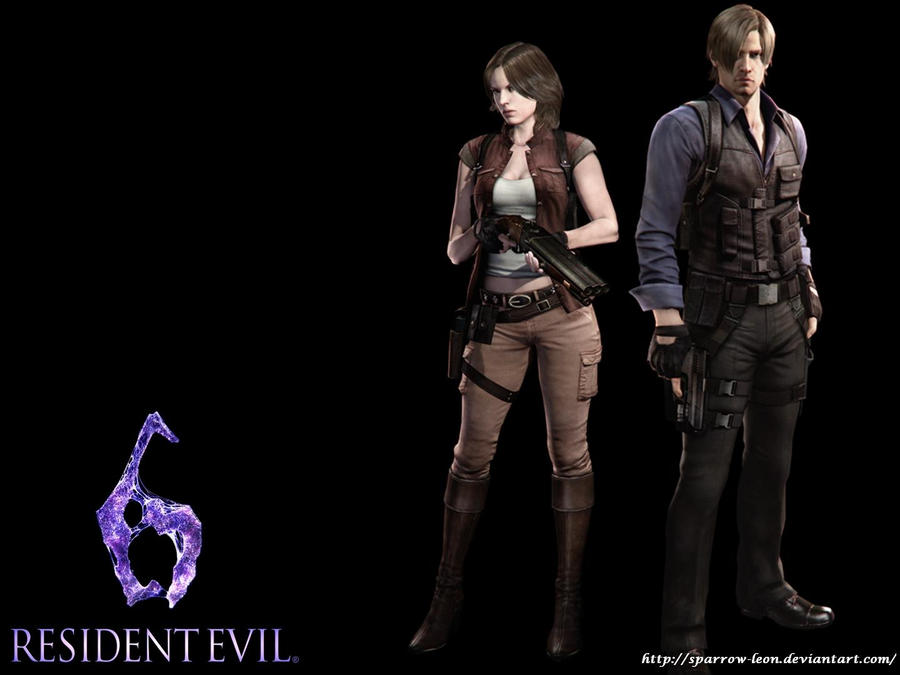 Leon And Helena Resident Evil 6 By Sparrow Leon On Deviantart