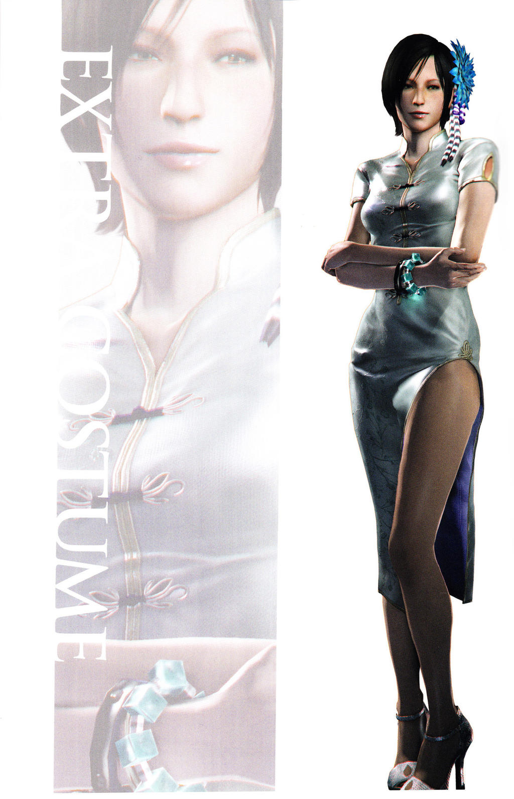 Ada Re6 Extra Costumes 4 By Sparrow Leon On Deviantart