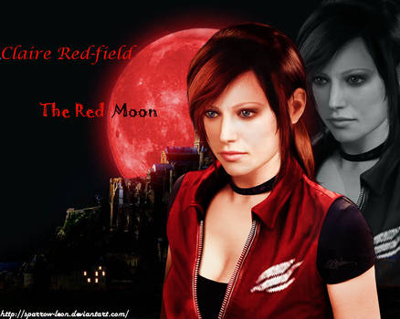 Claire REDfield ~ RED Moon