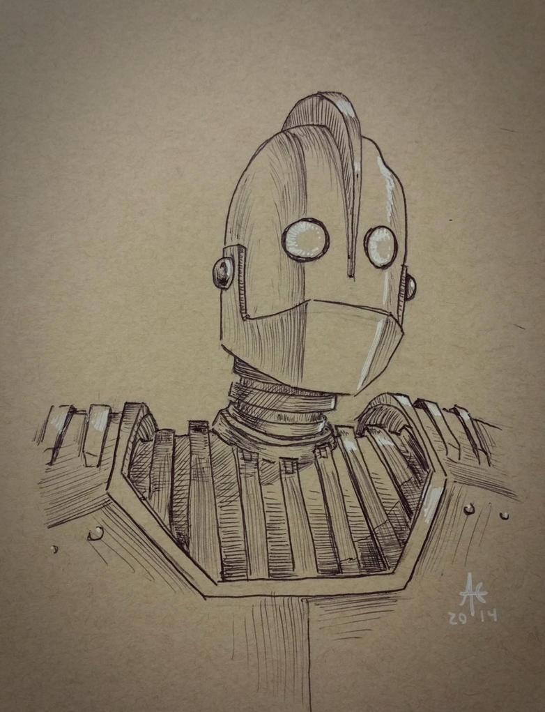 Fan Art Friday - Iron Giant by Ghotire
