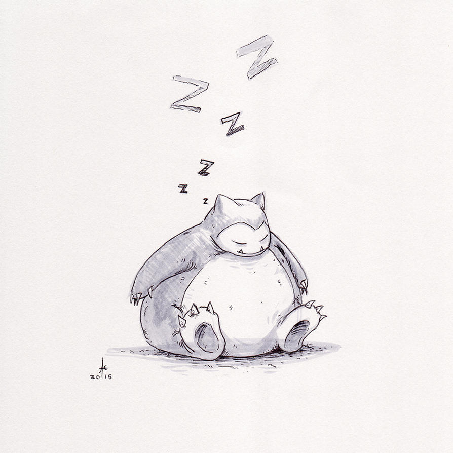Snorlax by Ghotire