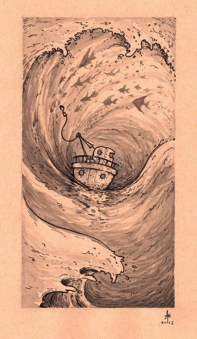 Little Boat by Ghotire