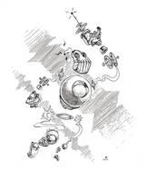 Cosmic Defender 87 by Ghotire
